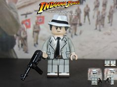 Custom LEGO Raiders of the Lost Ark: Dr. René Belloq | by Will HR
