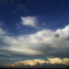 Maringá clouds - Photo by britodouglas