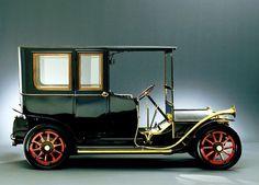 1908 Lancia Alpha 12 HP. The first car made by Lancia.