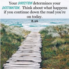 AUGUST 26: Your direction determines your destination. Think about what happens if you continue down the road you're on today. #Proverbs22 @astrology @horoscope @destination