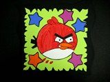 Artsonia Art Exhibit :: 4th Grade Angry Birds Burton Morris Style