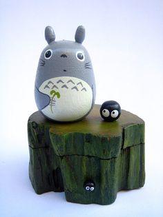 Totoro wood box