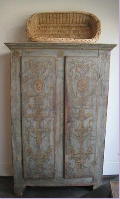 Painted Furniture Colors / Primitive Cabinet