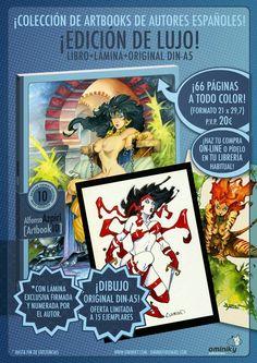 Cazadores de Comics: Ya está a la venta el Artbook de Alfonso Azpiri
