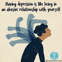 Mental Health Illnesses, Mental And Emotional Health, Mental Health Matters, Mental Health Quotes, Mental Health Issues, Positive Mental Health, Mental Illness Awareness, Depression Awareness, Understanding Depression