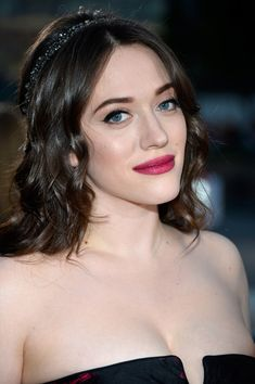 Co-host Kat Dennings attends The 40th Annual People's Choice Awards at Nokia Theatre L.A. Live on January 8, 2014 in Los Angeles, California...