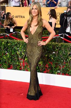 Jennifer Aniston's gown at the Screen Actors Guild Awards
