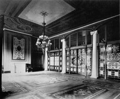 c6c534d591a An In-depth Look at Tiffany Lamps · Tiffany Stained GlassTiffany GlassHouse  EntranceEntrance HallTiffany WhiteStained ...