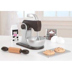KidKraft Children's Baking Set - Espresso Role Play Toys for The Kitchen Childrens Baking, Play Kitchen Accessories, Play Kitchen Sets, Play Kitchens, Toy Kitchen, Kitchen Tools, Four Micro Onde, Little Chef, Baking Set