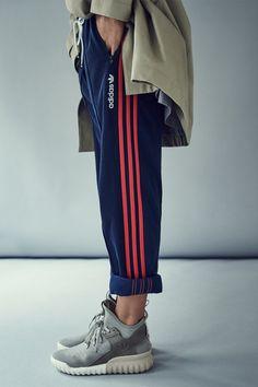 adidas Originals Tubular X Premium Primeknit sneakers Milan Fashion Weeks, New York Fashion, Bon Look, Curvy Petite Fashion, Sneakers Fashion Outfits, Fashion Boots, Sport Chic, Africa Fashion, Mode Vintage