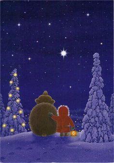 Com s'imagineu vosaltres el dia a dia del Pare Noel? Què fa quan s'apropen els dies de Nadal? Té amics?....!? Doncs la il·lustrado...