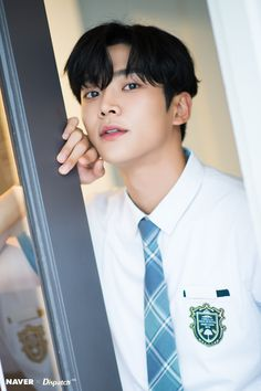 "NAVER × Dispatch promotion for ""Extraordinary You"" Drama Korean Drama Movies, Korean Actors, Korean Celebrities, Kim Ro Woon, Chani Sf9, Jung Hyun, Another Love, Fnc Entertainment, Kdrama Actors"