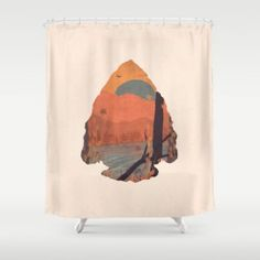 Shower Curtain featuring Autumn In The Gorge... by NDTank