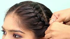 New Hairstyle | Trending Hairstyle | Party Hairstyle | Wedding Hairstyles Hairstyles For Gowns, Trending Hairstyles, Party Hairstyles, Hairstyle Wedding, New Hair, Hair Styles, Fashion, Hair Plait Styles, Moda