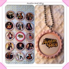 Austin+and+Ally+Bottle+cap+necklaces+by+NlacesbySophieandme,+$2.50