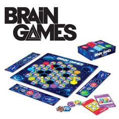 Name: Brain Games - The Game - Based on the Emmy Nominated National Geographic Channel TV Series Manufacturer: Buffalo Games Category: Family & Party Board As A Man Thinketh, Buffalo Games, Die Games, National Geographic Channel, Strong Family, Brain Games, We Are Young, Human Mind, Adult Games