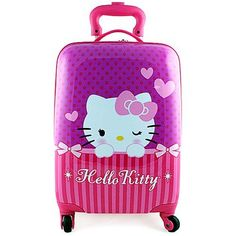 d1a0c84e447 Hello Kitty Hardshell Spinner Rolling Luggage Case  Purple  Hello Kitty ,http