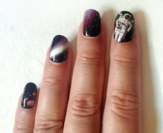 Nail Decals Space is the Place for Galaxy Nails by IHeartNailArt, $7.00