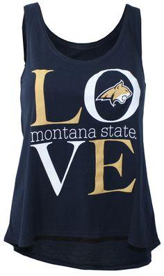 Women's Tank, LOVE Montana State | MSU Bookstore