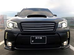 Custom Grill by Grow for Subaru Forester