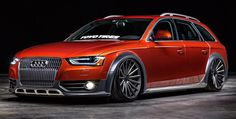 Audi Allroad on Vossen VFS-2