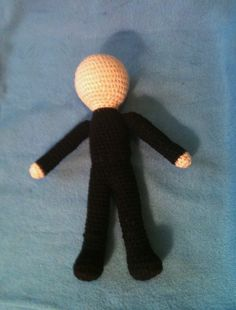 """Basic Crocheted Doll - Free Amigurumi Pattern -  - PDF File - click """"download"""" or """"Free Ravelry download"""" here: http://www.ravelry.com/patterns/library/beckys-basic-crocheted-doll-pattern"""