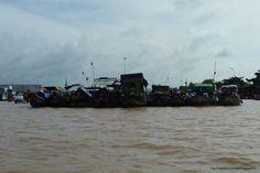 Mekong Delta - Cai Be floating market #Vietnam