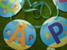 Bubble Guppies Party LARGE Happy Birthday Banner ONLY No Name No Age. $29.99, via Etsy.