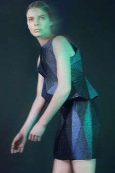 collection inspired by geological formation of crystals and minerals