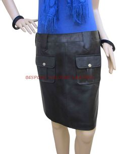 Real Leather Skirt made by us