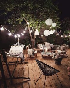 Awesome Deck Lighting Ideas To Lighten Up Your Deck – Outdoor Christmas Lights House Decorations Outdoor Lighting, Outdoor Decor, Lighting Ideas, Backyard Lighting, Outdoor Seating, Outdoor Deck Decorating, Balcony Lighting, Backyard Seating, Deck Patio