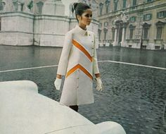 Mod coat, perhaps Pierre Cardin, 1960s