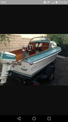 Cuddy Cabin Boat, Camper Boat, Boat Restoration, Boat Engine, Cabin Cruiser, Vintage Cabin, Vintage Boats, Old Boats, Aluminum Boat