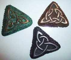 Celtic Fridge Magnets by GelertDesign on Etsy, £5.48