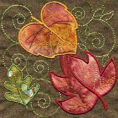 leaf quilt - Поиск в Google