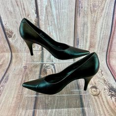 bccfe765f24 Womans Shoes Next Dark Brown Leather court stiletto size 6.5 40 high heels  | eBay