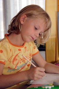 Focus for kids with oils