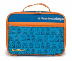 "AllerMates Blue """"I Have Allergies"""" Lunch Bag"