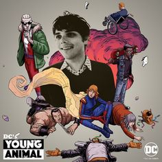 Doom Patrol: Gerard Way's Official Playlist Doom Patrol Gerard Way, Gerard Way Daughter, Gerard Way Black Parade, Gerard Way Red Hair, Comic Book Characters, Comic Books, Gerard Way Memes, Young Jeezy, Young Animal