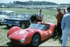 Roger Penske Birdcage Dupont Telar  Maserati 1961