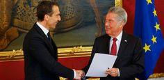 Asume nuevo canciller en Austria y promete cambios - http://www.absolutaustria.com/asume-nuevo-canciller-en-austria-y-promete-cambios/