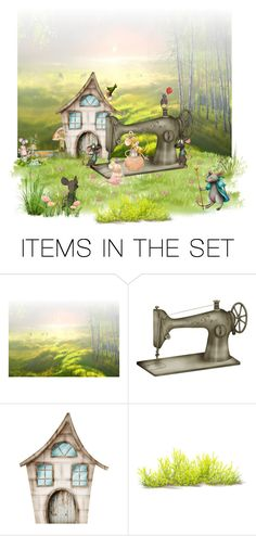 """""""The best seamstress!"""" by thaliatria ❤ liked on Polyvore featuring art"""