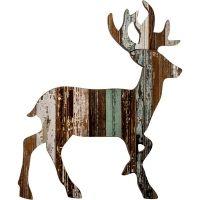 Recycled Deer Wall Art