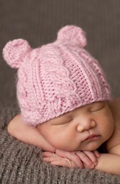 Free shipping and returns on BLUEBERRY HILL The Blueberry Hill 'Julian Bear' Knit Hat (Baby) at Nordstrom.com. Utterly adorable bear ears top a cozy knitted cap that keeps your little one cozy and extra cute. $28 Nordstrom 2014