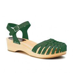 Swedish Hasbeens Snake Debutant Sandals