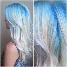 Blue blond