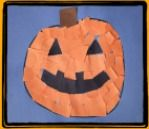Mosaic Pumpkin Halloween Craft and Song for Kids!
