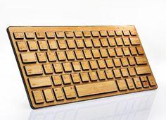 A bamboo keyboard...too cool!  Weekly Wishlist - Stuff for Creatives #3 l DesignBent.com #gadget