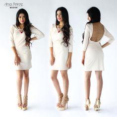 Un tono mas del vestido con escote en espalda, hermoso  #graduacion #beauty #outfit #StreetStyle #itgirl #fresco #trendy #summer #shop #love