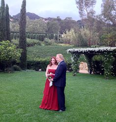 Melissa Gilbert Marries Timothy Busfield: See Her Red Wedding Dress!
